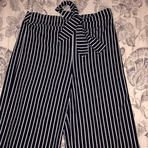 Dressy Striped Pants